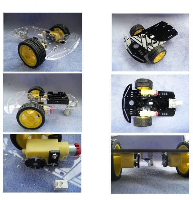 Шасси RKP-202A-2WD для Ардуино Arduino