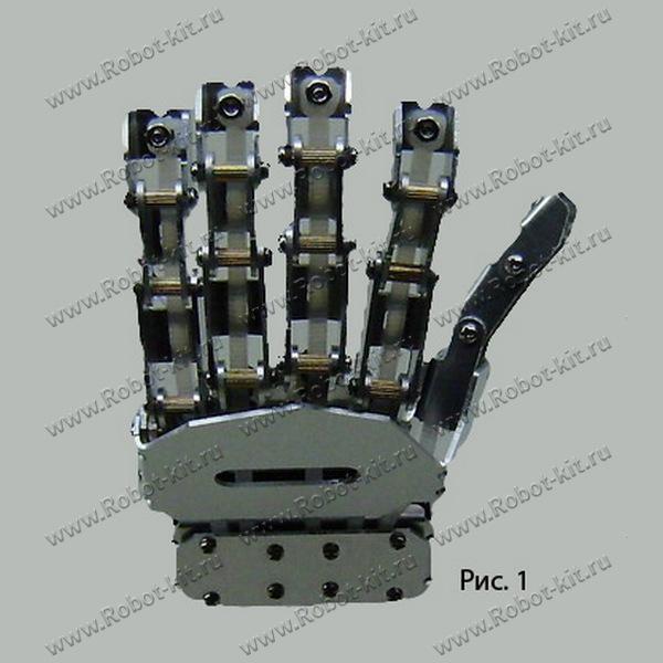 Роботизированная рука манипулятор