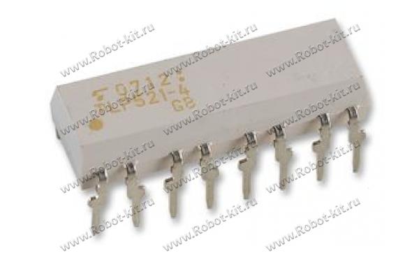 Оптрон TLP521-4 в корпусе DIP-16