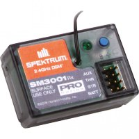 SR3001 DSM 3-Channel Pro Series Receiver, Surface (SPM1205)