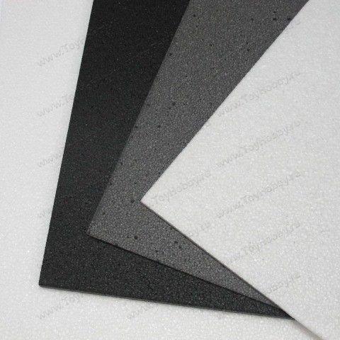 Лист EPP 500 x 700 мм, толщина 5-6 мм, 20 гр/л, белый